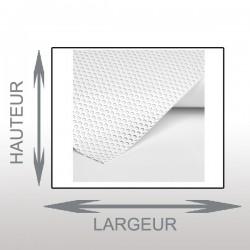 Microperforé vitrine 20x30cm