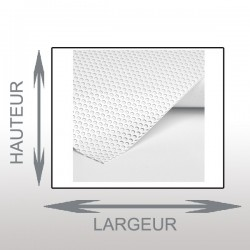 Microperforé vitrine 20x35cm