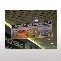 Affiche suspendue PVC 30/100ème M1 59,4 x 84,1 c