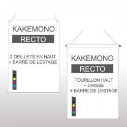 Kakémono recto 59,4x84,1cm