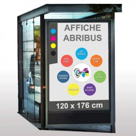 affiche abribus