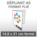 Dépliant A5 (4 faces)