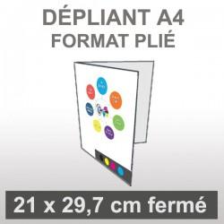 Dépliant A4 (4 faces)