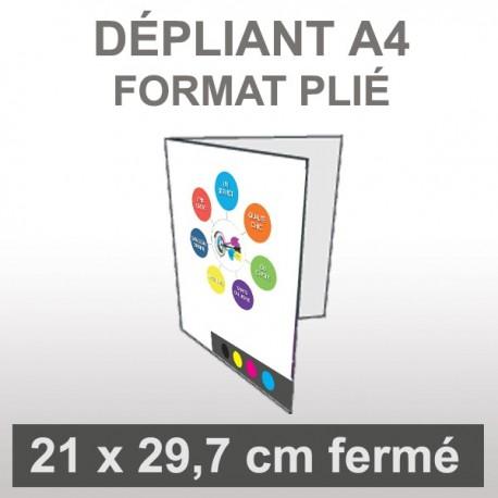 Dépliant A4 4 faces