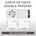 Carte Double Paysage