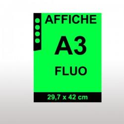 Affiches FLUO A3 VERT