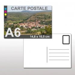 Cartes postales A6 (14,8 x 10,5 cm)