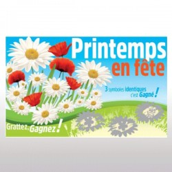 "1000 tickets à gratter ""PRINTEMPS"" PERDANTS"