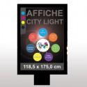 Affiches Citylight (118,5 x 175,0 cm)
