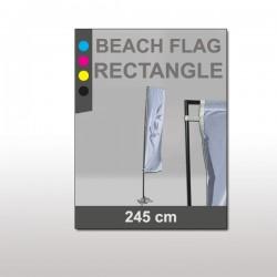 Beach Flag Rectangulaire 4,46m