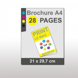 Magazine A4 28 pages papier 170g