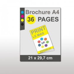 Magazine A4 36 pages papier 170g