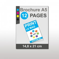 Magazine A5 12 pages papier 170g mat