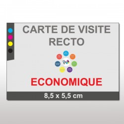 Cartes de visite ECO recto