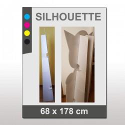 PLV Silhouette 68 x 178 cm