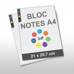 Blocs Notes encollés A4