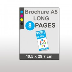Magazine A5 Long 8 pages papier 135g