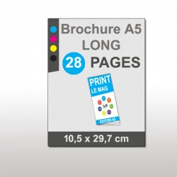 Magazine A5 Long 28 pages papier 135g