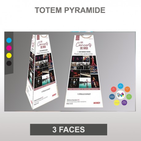Totem pyramide