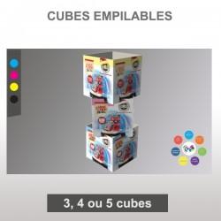 Totem Cubes à empiler