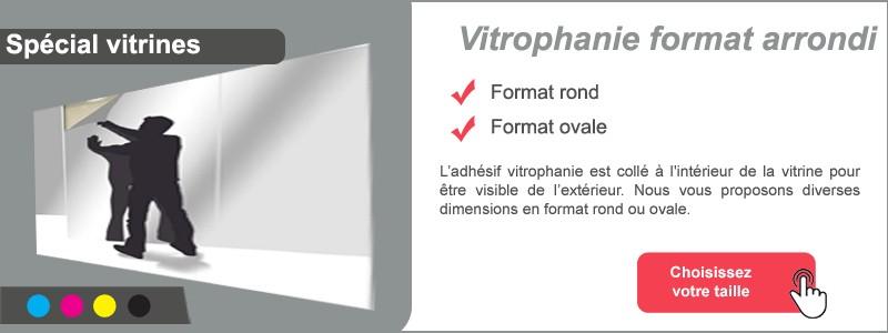Vitrophanie rond